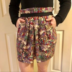Anthropologie Staring at Stars Skirt with Pockets